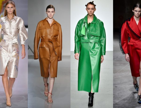 trench coats from london fashion week header