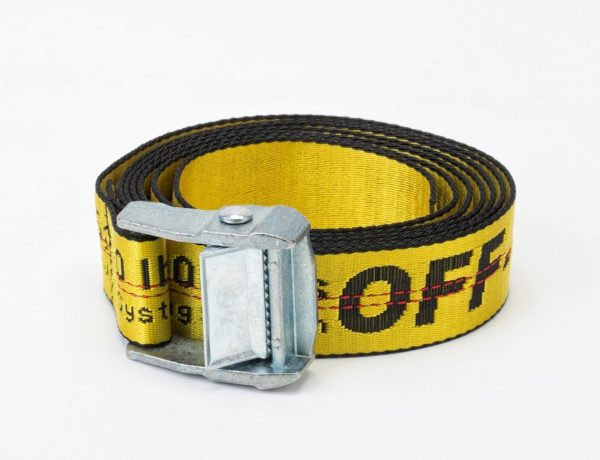 The Off__White Strap also comes in different colours but the yellow is taking over the fashion universe!