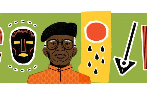 Chinua Achebe is Google Doodle