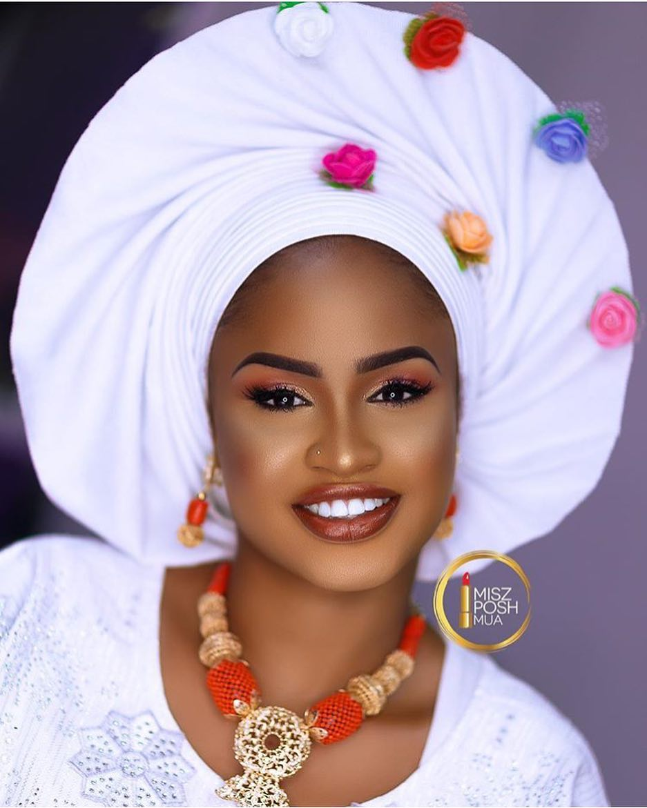 gele 1 - Makeup & Gele: For The Love Of Weddings