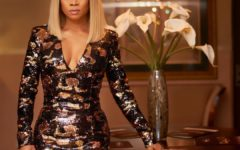 toke makinwa, blonde
