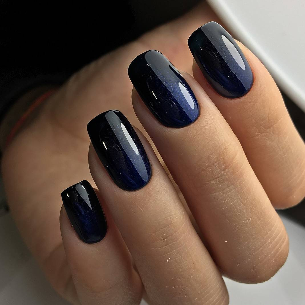 Black Nail Polish What Does It Mean: Fashion: Check Out These 5 Dark Manicure Ideas For The
